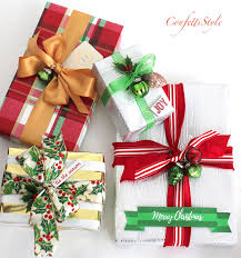 christmas gift wrap christmas gift wrap creative ideas tips confettistyle
