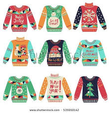 sweater card free vector stock
