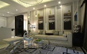 Contemporary Bookshelves Living Room Luxury White Interior Scheme For Living Room With