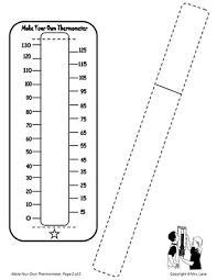 thermometer worksheets for kindergarten u0026 temperature thermometer