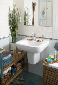 small bathroom ideas light blue cream white wall tiles home