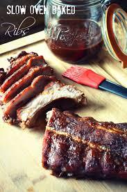 slow oven baked ribs karista u0027s kitchen