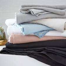 pottery barn linen sheets review what are the best bed sheets for summer