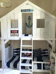 Do It Yourself Bunk Bed Plans Diy Loft Bed Surf Shack Bunk Bed Using Club House Bed Plans Do It
