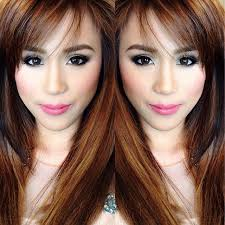 filipina artist with copper brown hair color 20 best celebrities philippines images on pinterest