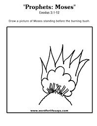 prophets moses u201d sunday lesson summary for exodus 3 1 12