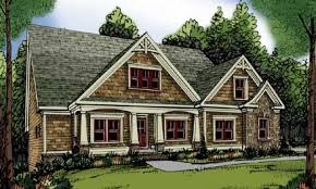 1 story craftsman style homes one story craftsman style single