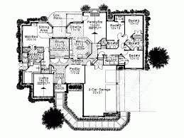 4 bedroom 1 story house plans eplans new american house plan beautiful one story home 2990