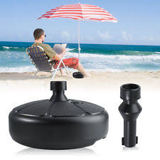 Patio Umbrella Stand by Unbranded Plastic Garden U0026 Patio Umbrella Stands Ebay