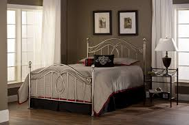 Amazoncom Hillsdale Furniture BQR Milano Bed Set With Rails - Milano bedroom furniture