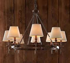 Burlap Chandelier Pottery Barn Chandelier Shades Eimat Co