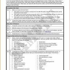 funeral pre planning worksheet template funeral pre planning worksheet with funeral