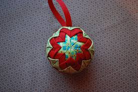 houston modern quilt guild tutorial folded fabric ornaments