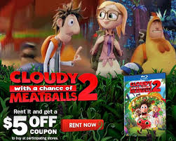 cloudy chance meatballs 2 movie coupon frugal