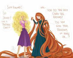 Disney Princess Hairstyles Kristina Webb Drawing Disney Disney Princesses Who U0027s Hair Is