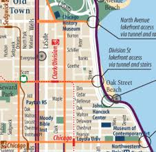 Lincoln Park Chicago Map by City Of Chicago Bike Map Volvoab