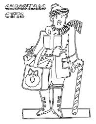 presents and gifts coloring pages part 2