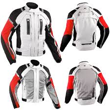 red motorcycle jacket motorcycle jacket ce armored motorbike textile warterproof 4 layer