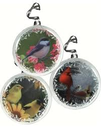 amazing deal rivers edge glass bird ornaments