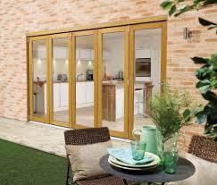 Patio Doors Direct Lpd Nuvu 3600mm 12ft Oak Bifold Doors At Express Doors Direct