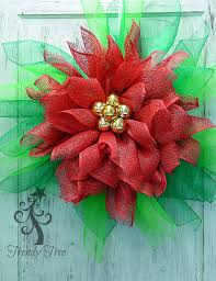 Decorating Christmas Wreaths With Mesh by Poinsettia Wreath Tutorial Pencil Wreath Wreath Tutorial And