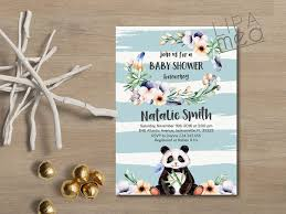 teddy bear baby shower invitations panda baby shower ideas baby ideas