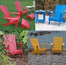 muskoka chairs durable plastic cottage u0026 patio furniture