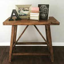 Pottery Barn Inspired Furniture Ana White Pottery Barn Inspired Truss End Tables Diy Projects