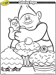 free coloring pages trolls