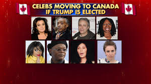 which stars are going to canada if trump wins fox news video
