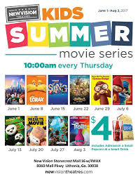 1 movie kids summer series live life half price