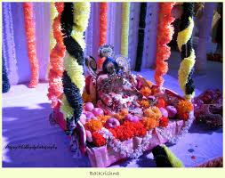 how to decorate a temple at home gokulashtami krishnashtami janmashtami random photography