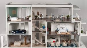 Doll House Furniture Home Design Modern Dollhouse Furniture Bath Remodelers