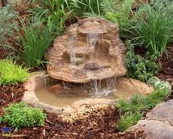 Backyard Waterfall Ideas by Small Pond Waterfall Design Ideas