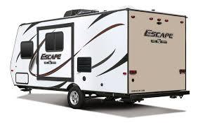 offroad travel trailers escape e191bh ultra lightweight travel trailer k z rv