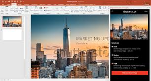 how to add shutterstock images into a powerpoint presentation