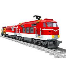 aliexpress com buy 588pcs train track set block toys city