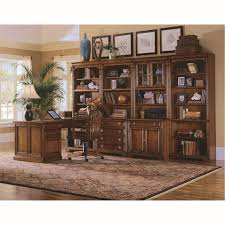 hooker furniture 281 10 422 brookhaven tall bookcase and left