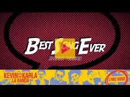 best part lyrics spanish 22 best kevin karla y la banda images on pinterest songs music