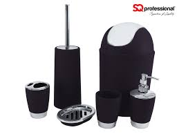 Red And Black Bathroom Accessories Sets Bathroom Bathroom Accessories Black And White Design Decor Top