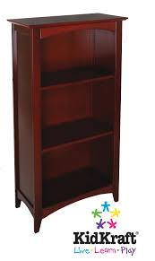 kidkraft avalon 3 shelf bookcase