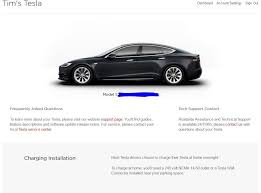 my tesla website updated to remove supercharger credit card