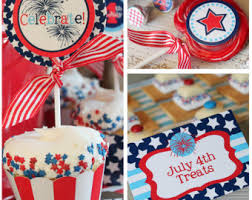 4th Of July Party Decorations July 4th Birthday Party Decorations July 4th Party
