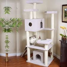 Cat Condos Cheap Petco Premium Tree Penthouse For Cats Everything Cats