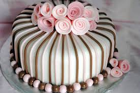 Decorating With Fondant Easy Fondant Birthday Cake Ideas