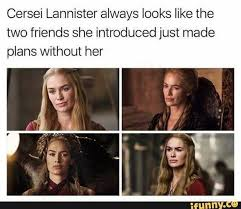 Cersei Lannister Meme - cersei s face game of thrones funny humour meme tumblr textpost