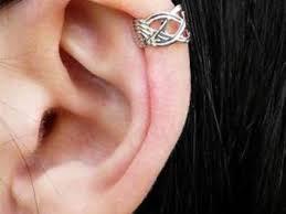 top earings 56 earrings for top of ear silver criss cross ear cuff