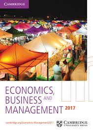 economics and management catalogue 2017 by cambridge university