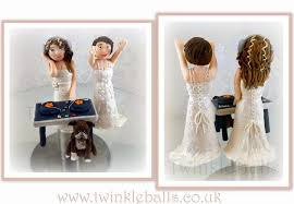 same wedding toppers beautiful brides same wedding cake topper cake by