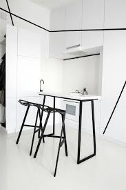 Black And White Chairs by 40 Beautiful Black U0026 White Kitchen Designs